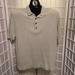 Tommy Bahama Short Sleeve Beige Mens Size XL Polo